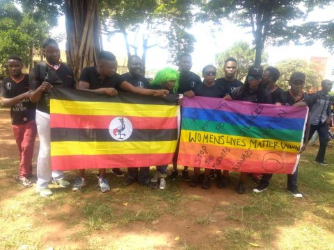 THE FIRST EVER UGANDA WOMEN'S MARCH 2018.